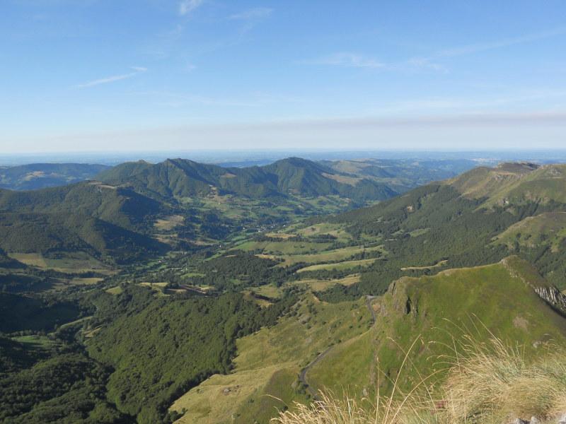 Une vue de l'Auvergne
