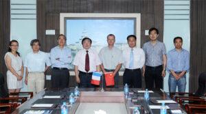 Partenariat université d'Harbin
