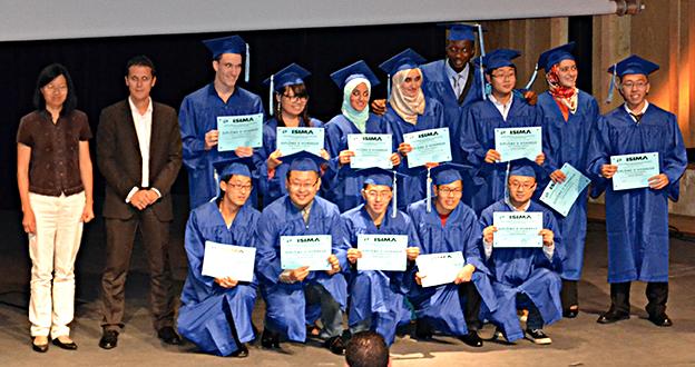 Remise de diplôme - Double diplômes